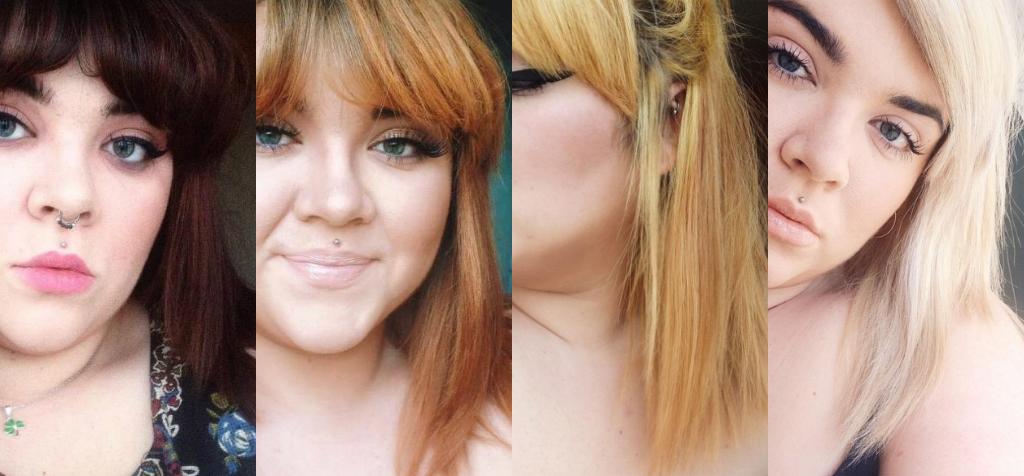 Brunette To Platinum Blonde In 14 Days Blue Vxlvet